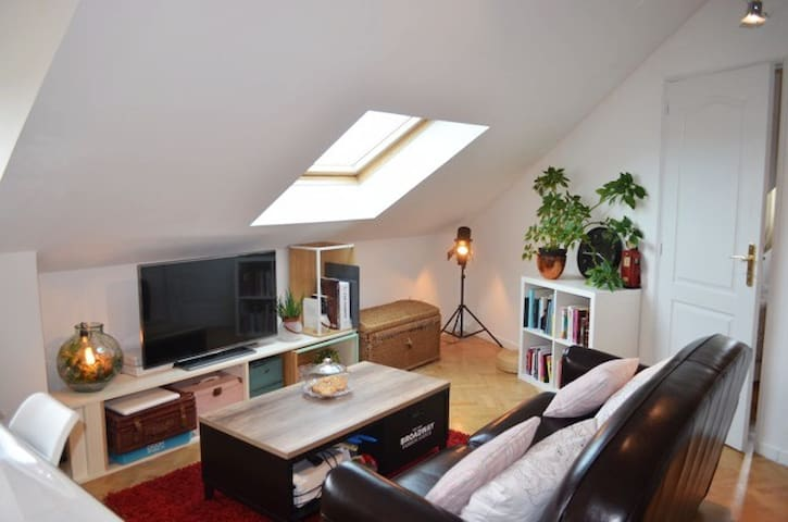 charmant appartement en centre ville - Achères - Apartment