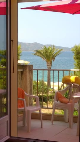 Très bel appartement de bord de mer - Saint-Florent - Apartemen