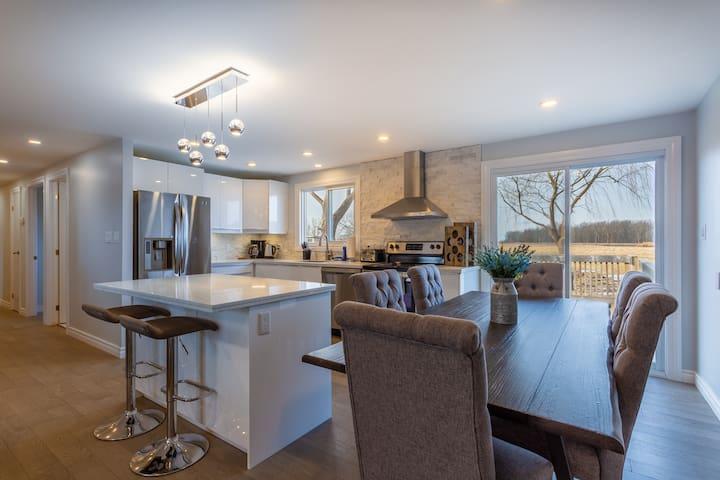 Kitchen living room main floor