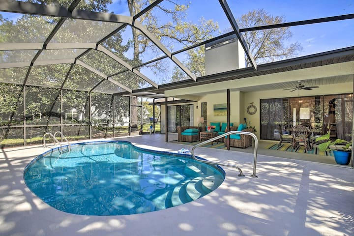 NEW! Homosassa Home w/Lanai~River Adventure Awaits