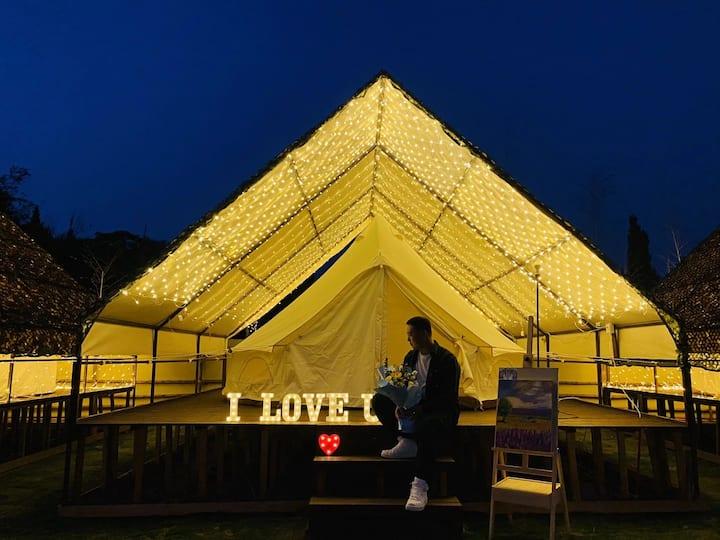牧栖星空 摄影基地,帐篷,烧烤,篝火,户外,露天电影,良渚(房源标价仅为单人入场费)