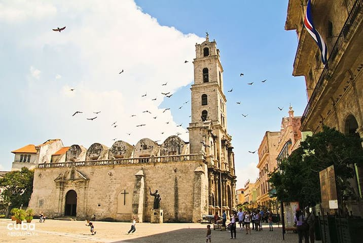 Image result for Convent of San Francisco de Asis, located in the Historic Center of Havana