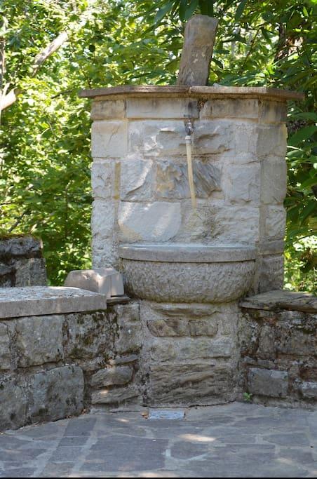 La fontana nel giardino