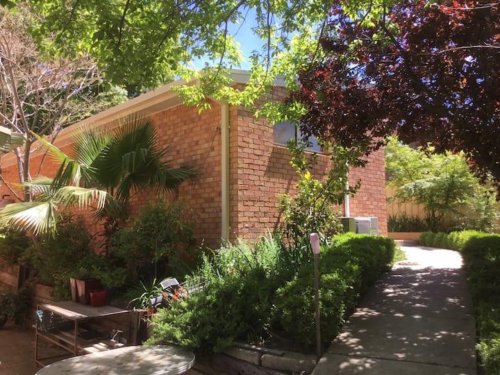 Beautiful peaceful garden flat