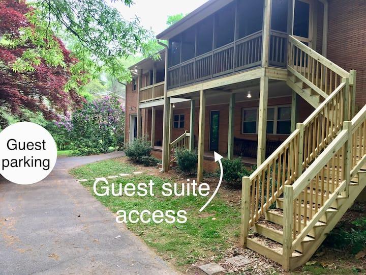 Charming Lenoir Guest Suite near Pisgah; Boone.