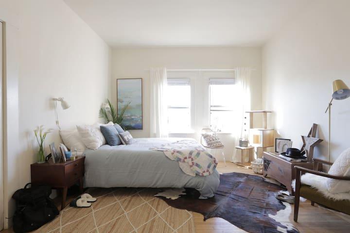 Sunny Bohemian Chic Studio - Oakland - Apartment