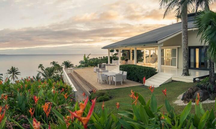 Magical Villa with Private Beach