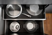 Küche mit hochwertiger Vollauststattung