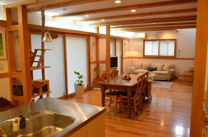 Warm and Friendly Room in Tokyo - Musashino-shi - Talo