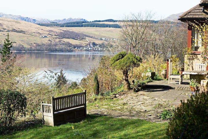 Rosmuire,  sea and hill views near Loch Lomond
