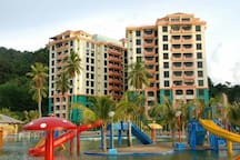Private unit at Marina Cove Resort apartment
