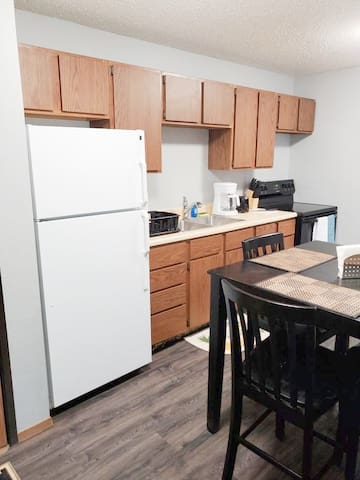 Serviced and furnished Williston short term rental