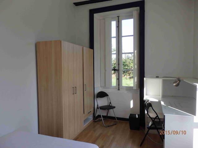 Chambre dans un appartement partagé - La Chapelle-sur-Erdre - Apartemen