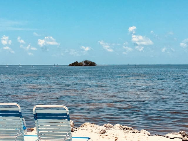Small nearby island with awesome beach easy kayak or paddle board trip