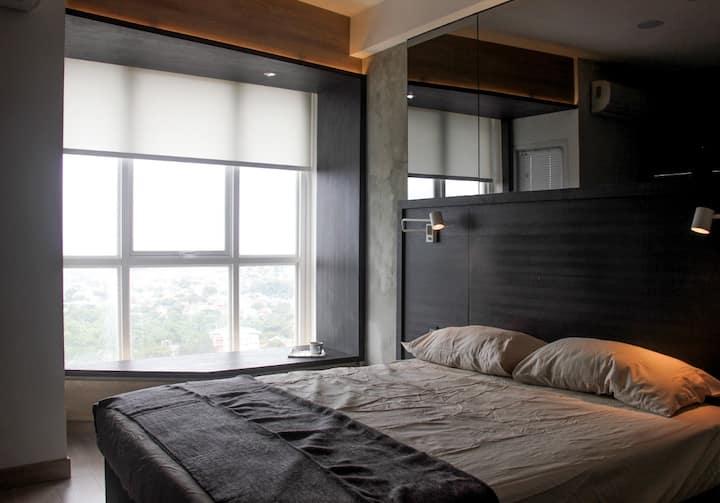 Minimalist Studio Apartment Depok near UI