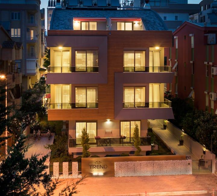 Trend Suites Hotel ( Basement , Bodrum kat )