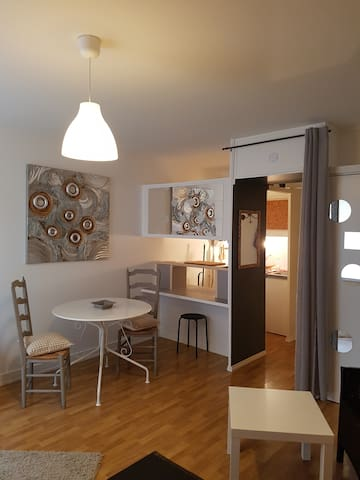 Joli studio situé en centre ville de Vendôme - Vendôme - Flat