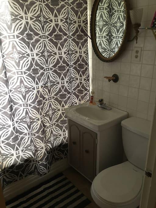 Common area bathroom