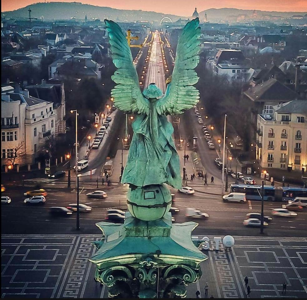 The Angel at the end of our street