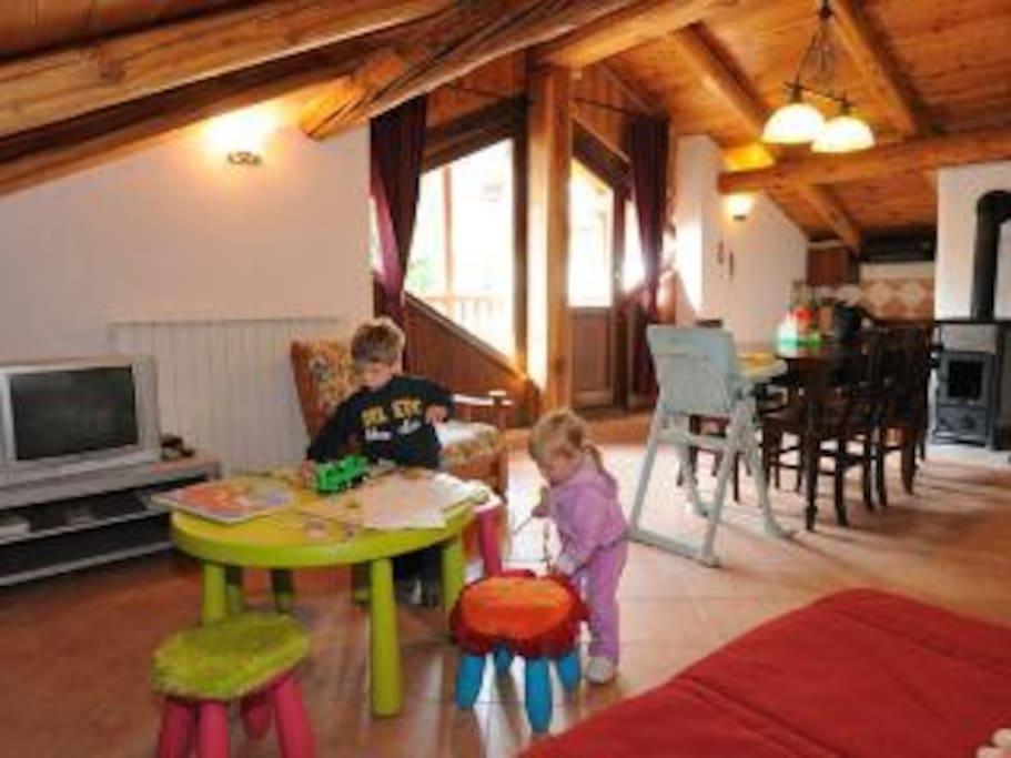 ospitalità a misura di bambino