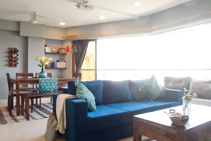 Beautiful Apartment with view of the city - Mumbai - Appartement