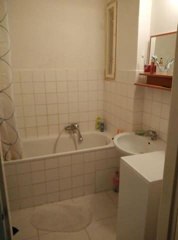 banyosunda küveti vs her şeyi bulunmaktadır çamaşır makinası vs burdadır gerekli havlu vs her şey hazılanıp teslim edilecektir