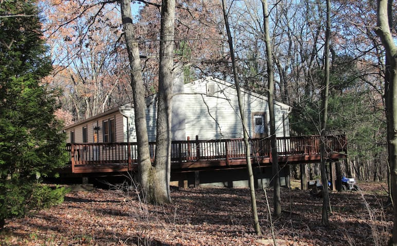 Secluded Home Nestled in Private Pocono Community