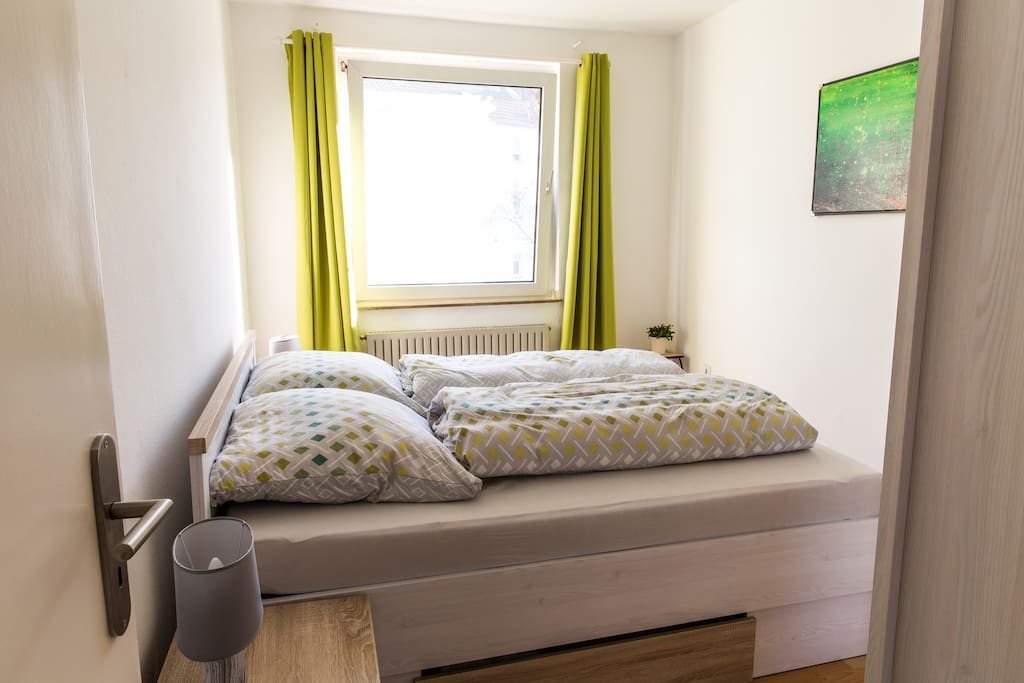 Das bequeme Doppelbett,comfortable double bed