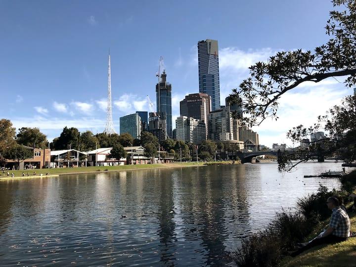Southbank City Skyline