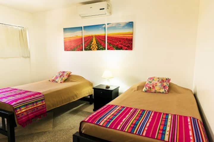 Habitación para 2 personas en Guayaquil centro