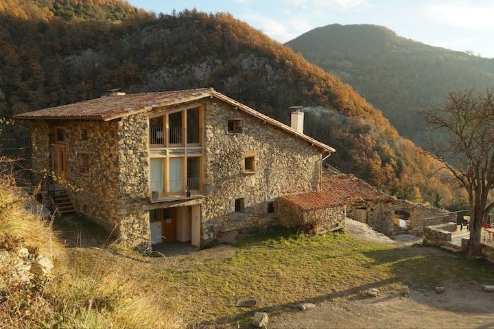 Alberg rural El Negre. Capacitat per a 28 persones