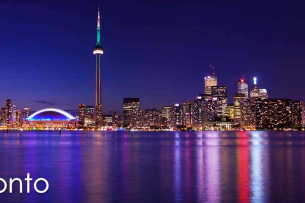 City of Toronto at Night.