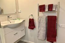 Don't worry about unpacking your own towels, we've got everything covered for you :-)