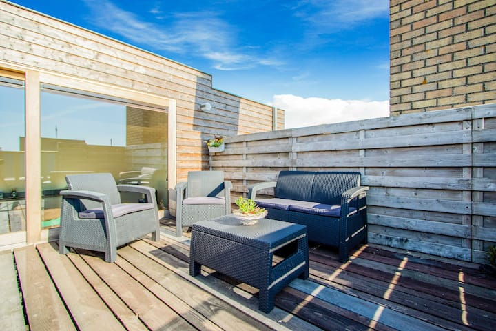 Luxurious Apartment in West Flanders with Roof Terrace
