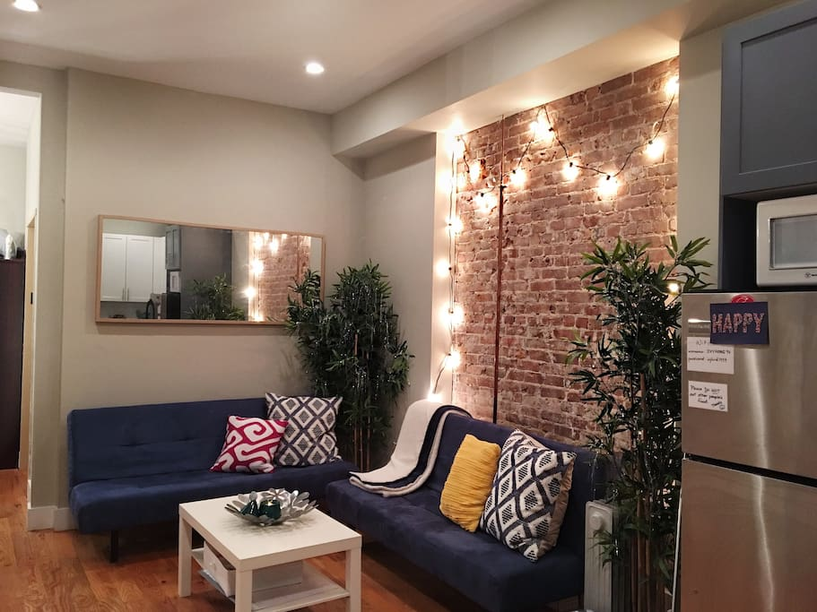 Laundry 2 Bed Exposed Brick In Williamsburg 1 Apartments For Rent In Brooklyn New York