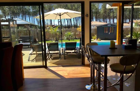 Villa moderne classée 4* avec piscine chauffée
