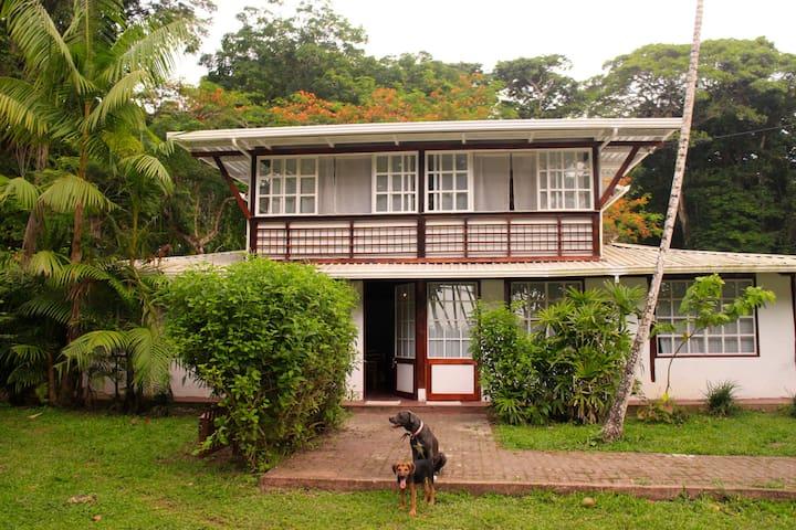 Casa Luna Menguante, beach front ecoHouse.
