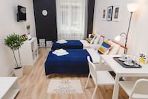 2 cool apartments (No1), Zagreb, city center