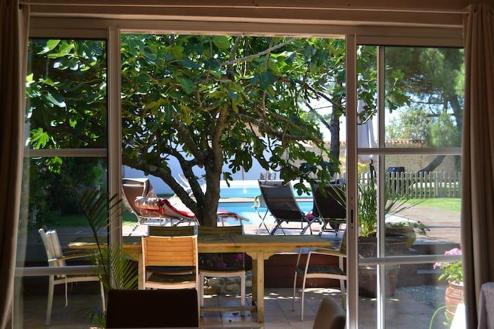 2 gîtes indépendants 10/12 avec piscine privative - Marsilly