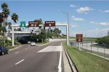 We are 25 miles from Orlando International Airport (MCO)