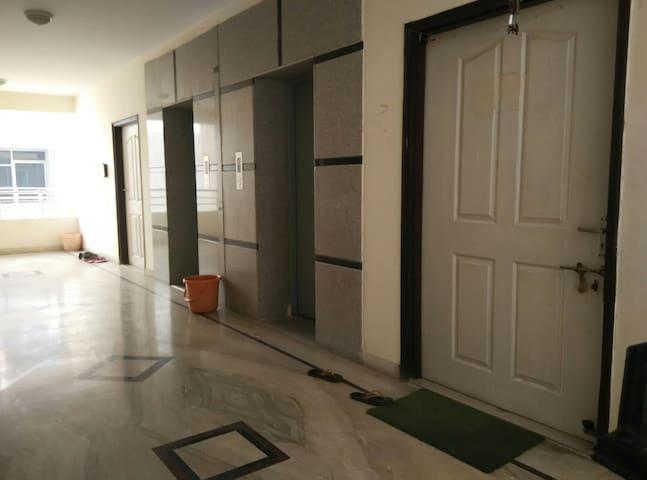 Main door on 5th floor