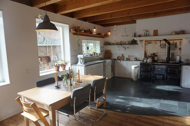 Karakteristiek huis aan de rand van Middelburg