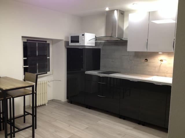 studio rénové à la villa saint charles Beure - Beure - Appartement