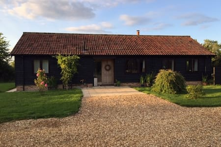 Detached rural smallholding in Wiltshire village