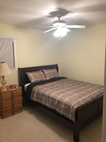 Quiet Queen Bedroom in newly purchased home
