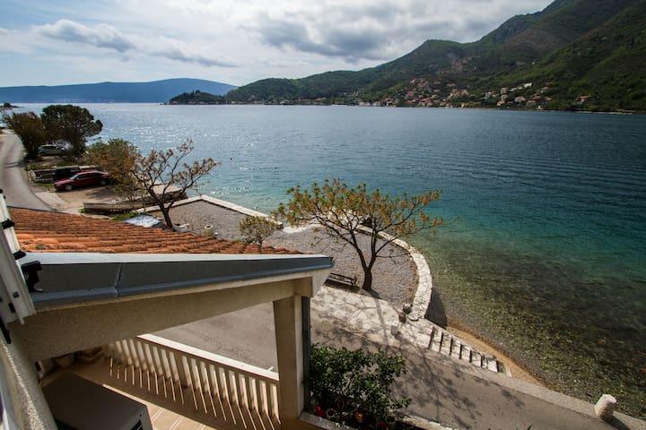 Aпартаменты с 1 спальней с видом на море