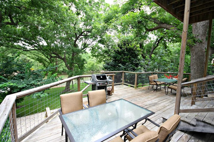 Spacious Deck with Comfortable Seating