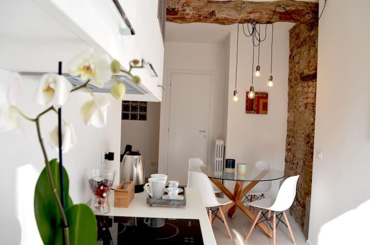 zona cucina e pranzo