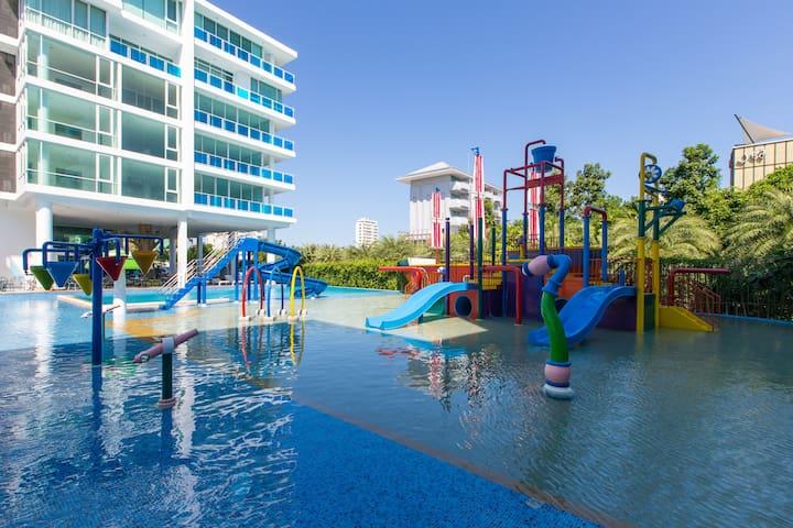 Cozy Rustic Coast Mood - Hua Hin - Apto. en complejo residencial