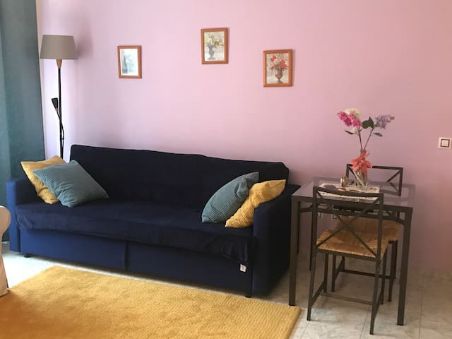 Small cozy apartment  250 m from the beach